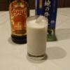 本日のカクテル:カルーア・ミルク(カルーア・パンプキン・ミルク)